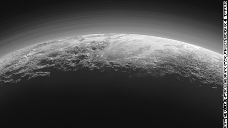 Pluto may have started hot and contained an ocean, according to new discovery