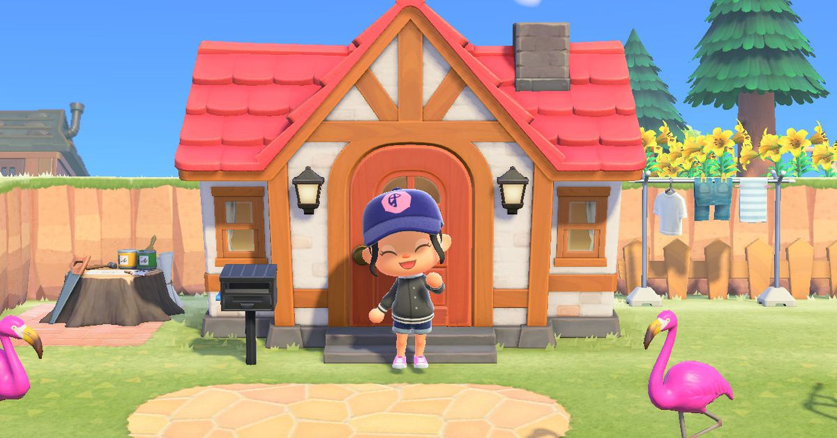 Animal Crossing: New Horizon's camera glitch is patched back in — as a feature