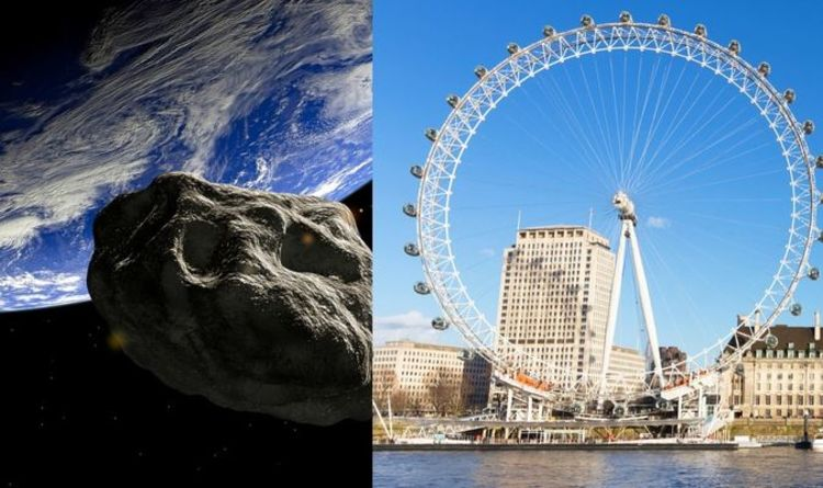 Asteroid news: NASA reveals 'hazardous' asteroid bigger than London Eye on close approach | Science | News