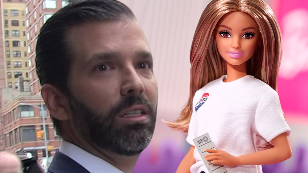 Barbie's 2020 Campaign Fires Again at Trump Jr., Suggests Dolls Are not Crimson or Blue