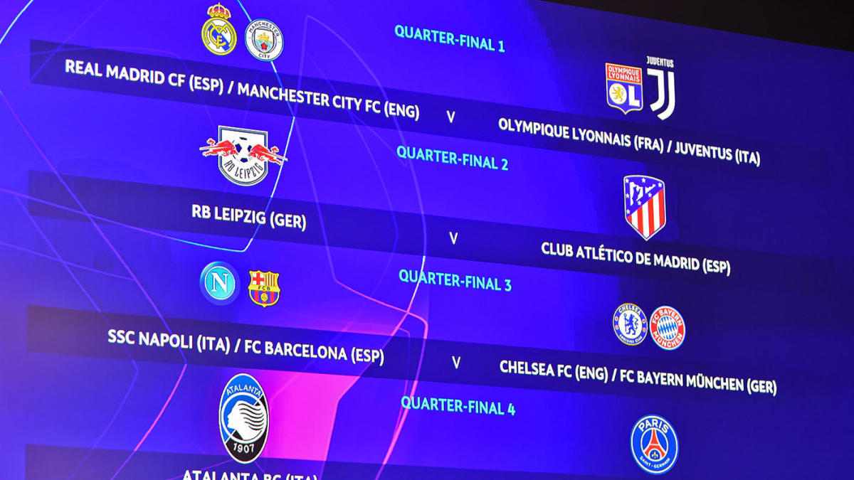 Champions League draw, Europa League draw results, bracket, schedule: Real Madrid, Man City face tough road