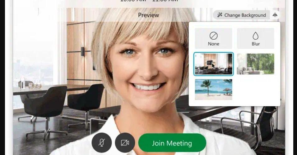 Cisco's Webex videoconferencing software now lets you set virtual backgrounds