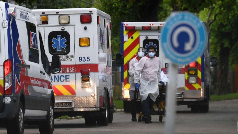Coronavirus updates: Florida has 53 hospitals with no ICU beds