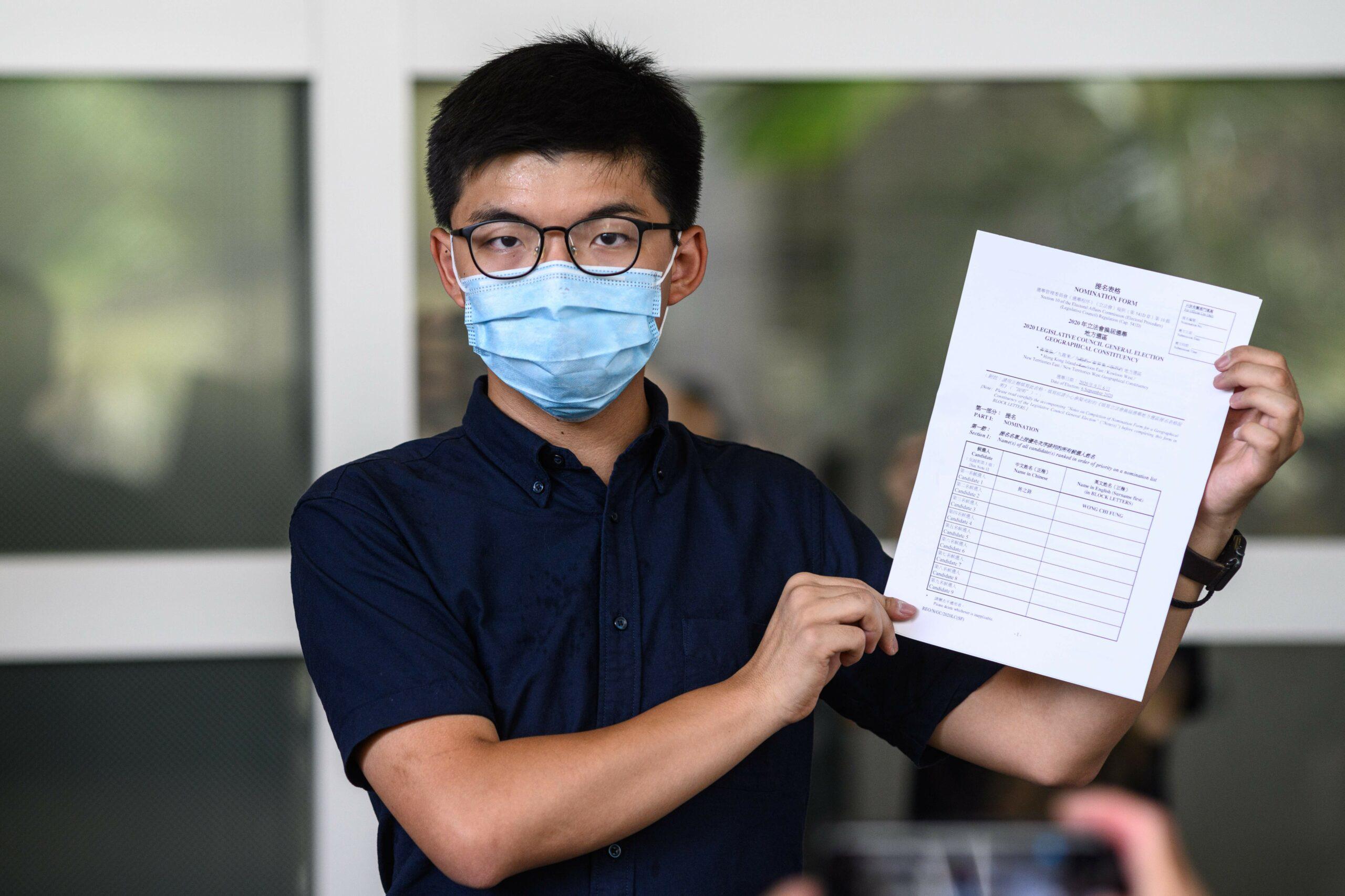 Critics slam Hong Kong move to bar professional-democracy candidates from election