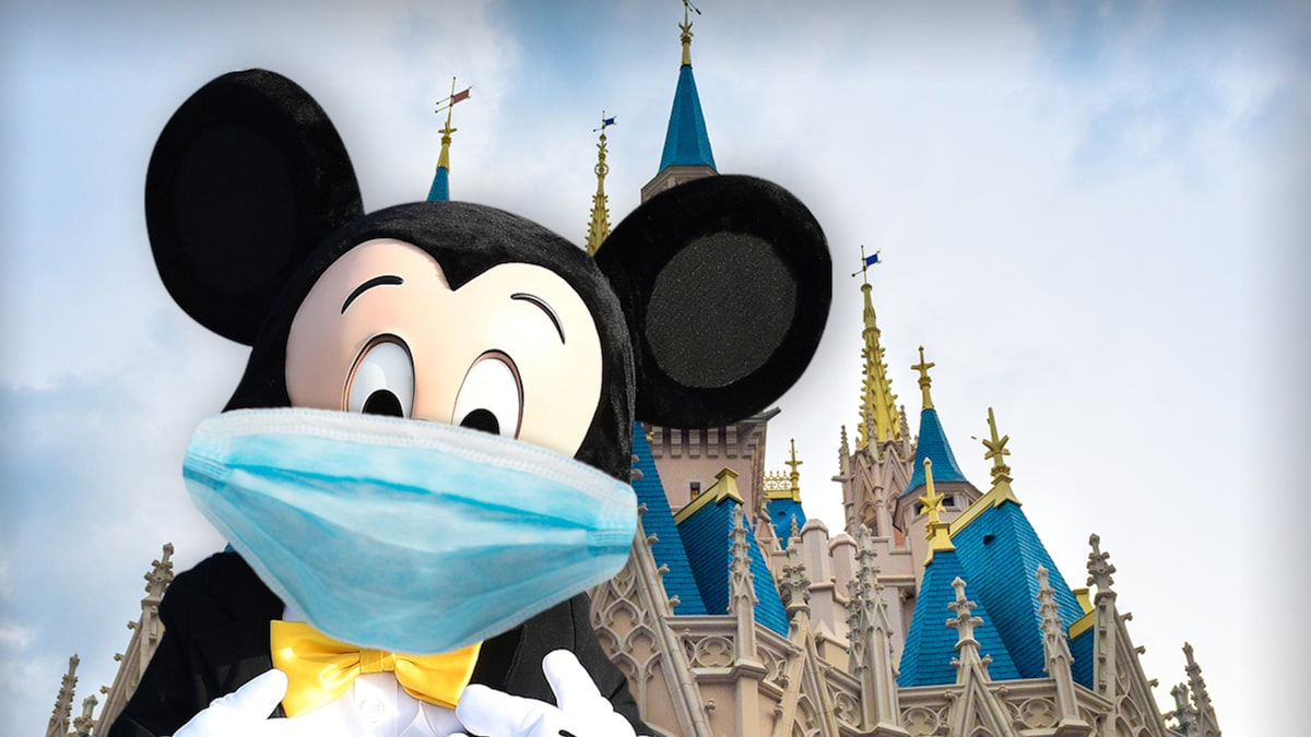 Disney World Reopens As COVID Cases Surge, Distancing Ain't Great