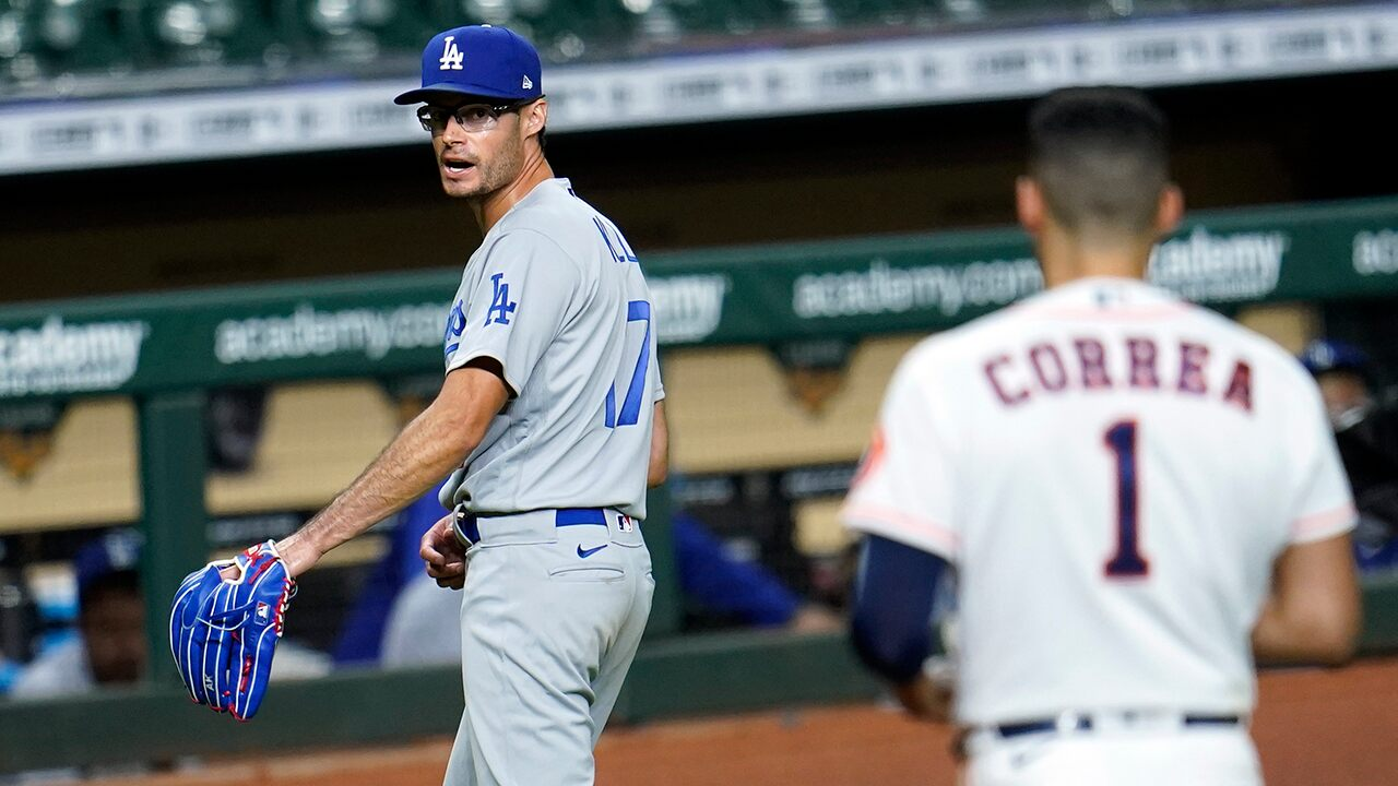 Dodgers, Astros' benches apparent after Joe Kelly buzzes Alex Bregman and Carlos Correa