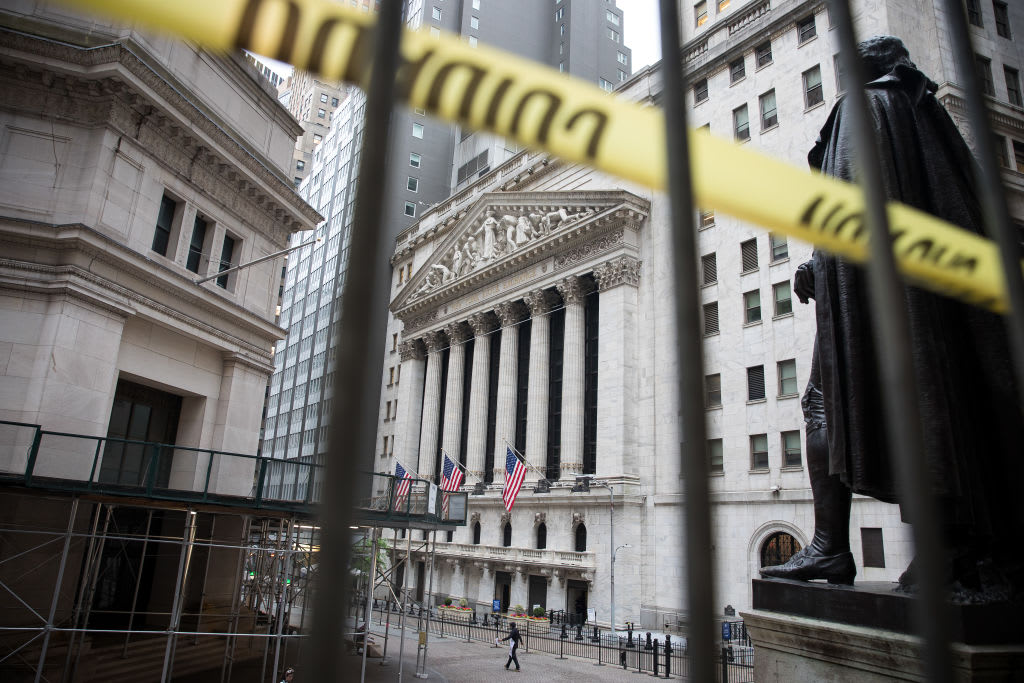 Dow futures increase 100 points as traders shake off a ongoing spike in coronavirus situations