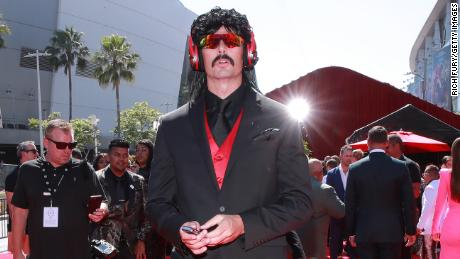 Dr Disrespect attends The 2019 ESPYs at Microsoft Theater on July 10, 2019 in Los Angeles, California. (Photo by Rich Fury/Getty Images)
