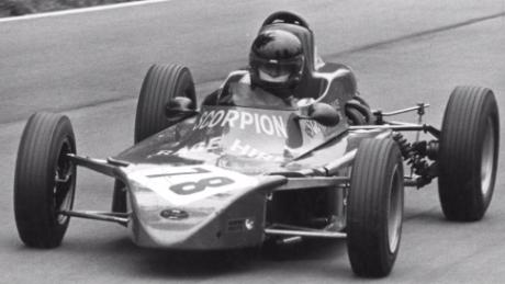 His driving talent first came to the fore when he competed in the 1977 British Formula Ford Championship (Courtesy: Chassy Media)