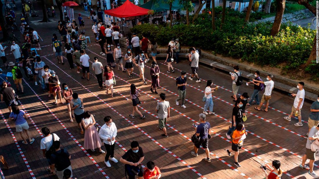 Hong Kong protection law: China states claims 600,000 folks may well have damaged it
