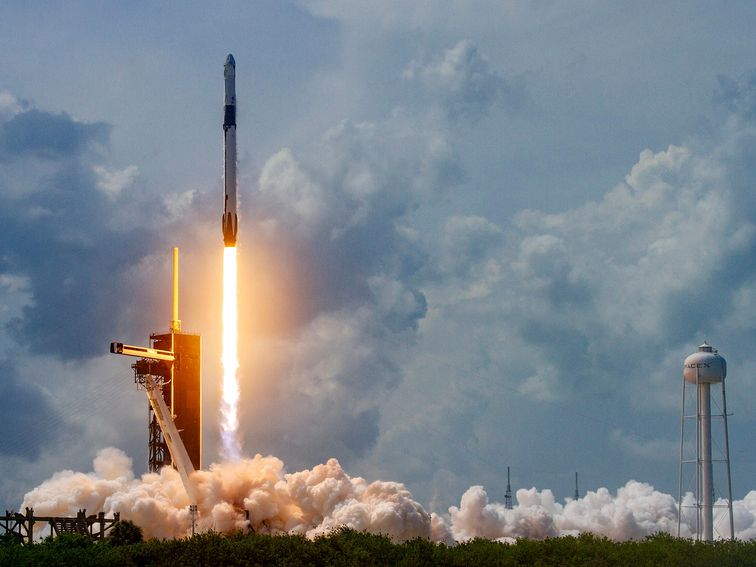 How to check out SpaceX start a South Korean armed forces satellite today