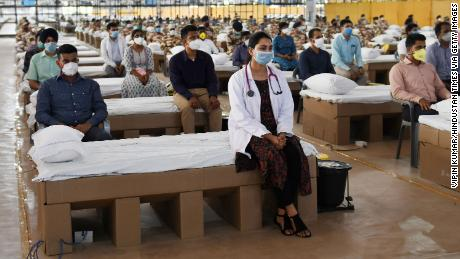 India opens one of the world's largest coronavirus hospitals