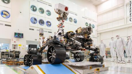 NASA's Perseverance rover will launch to Mars next month with a global tribute to health care workers
