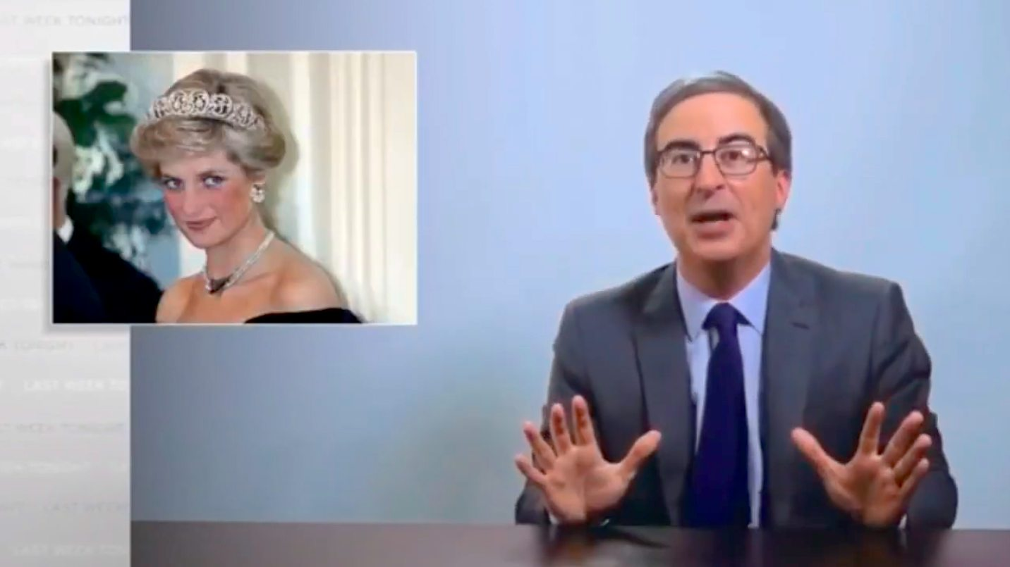 John Oliver Believes the Royal Household Killed Princess Diana