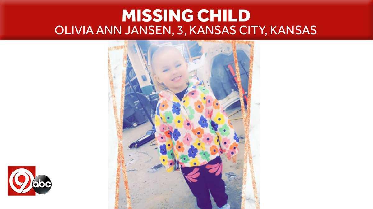 Kansas Amber Alert: Olivia Jansen abducted in Kansas City