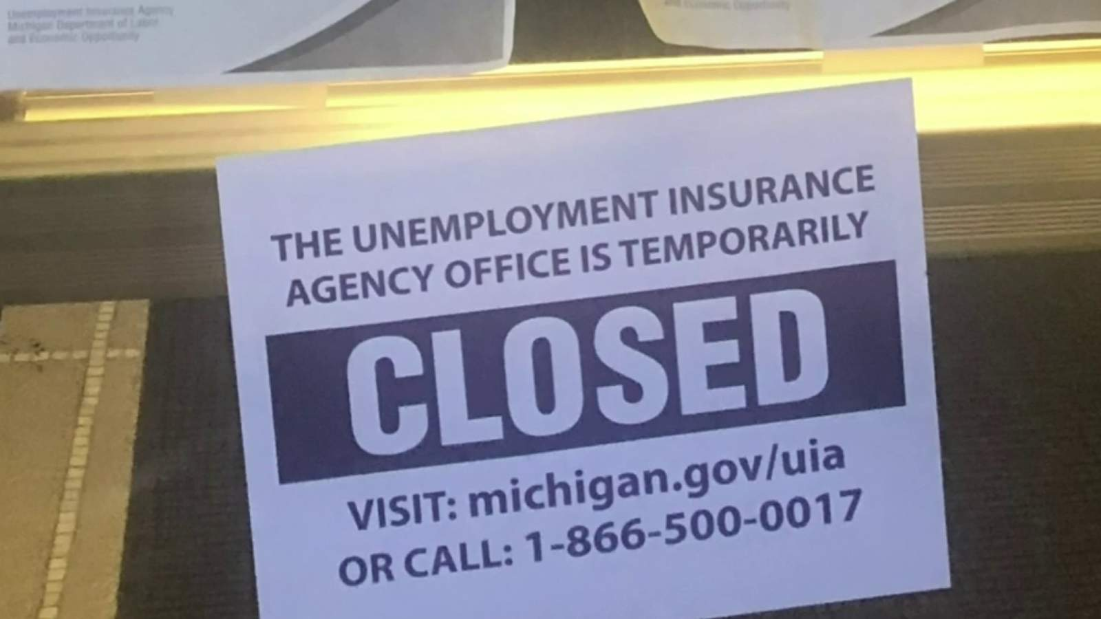 Michigan officers say $600 COVID-19 unemployment bonus finishes this weekend