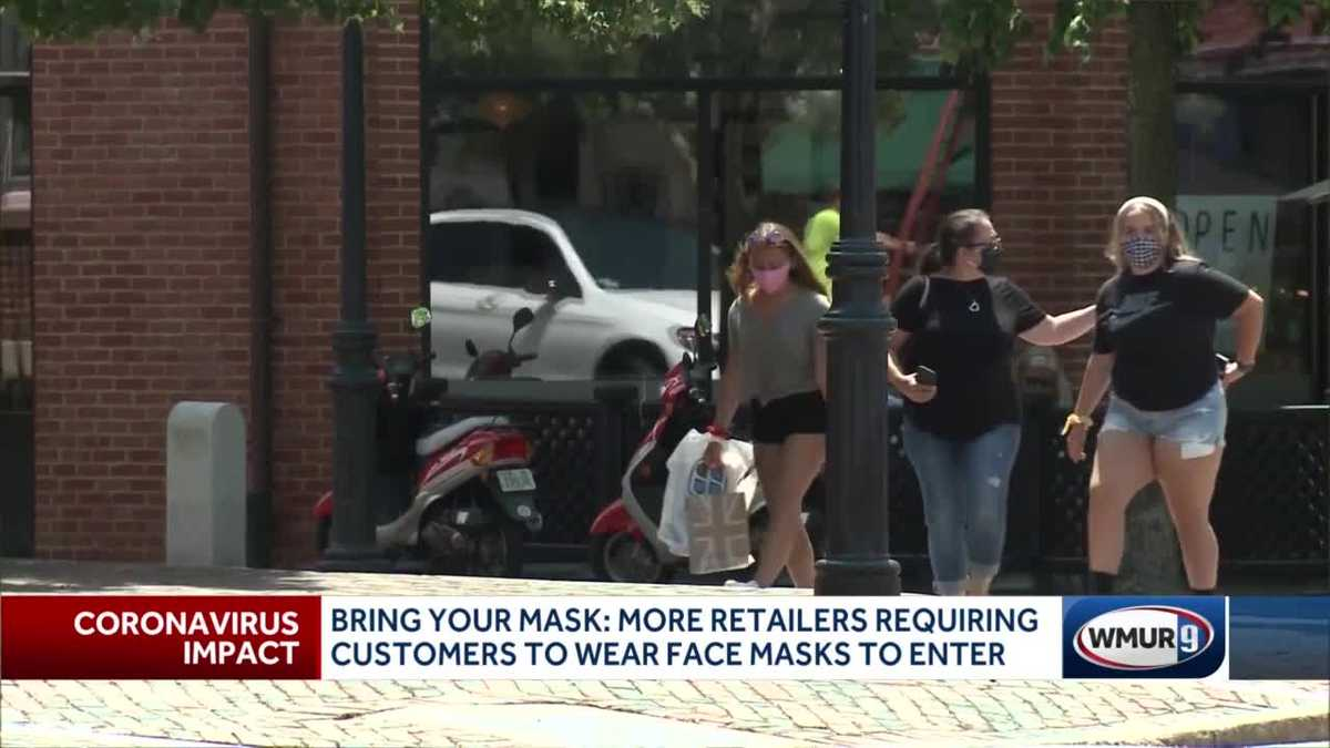 More retailers requiring customers to wear face masks to enter