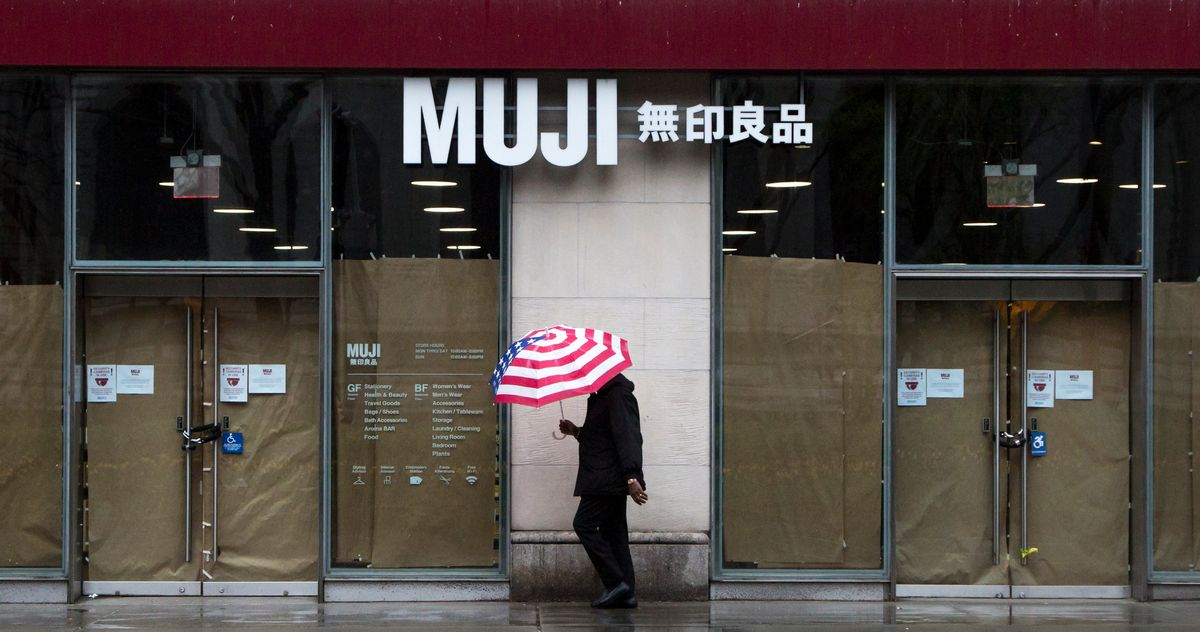 Muji Just Filed for Bankruptcy In the U.S.A