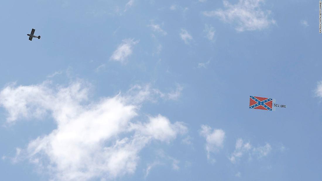 NASCAR: Plane flew a Confederate flag more than Bristol Motor Speedway