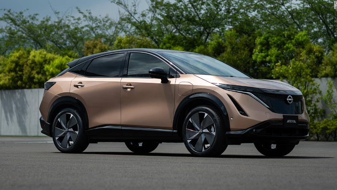 Nissan unveils its very first electric SUV, the Ariya