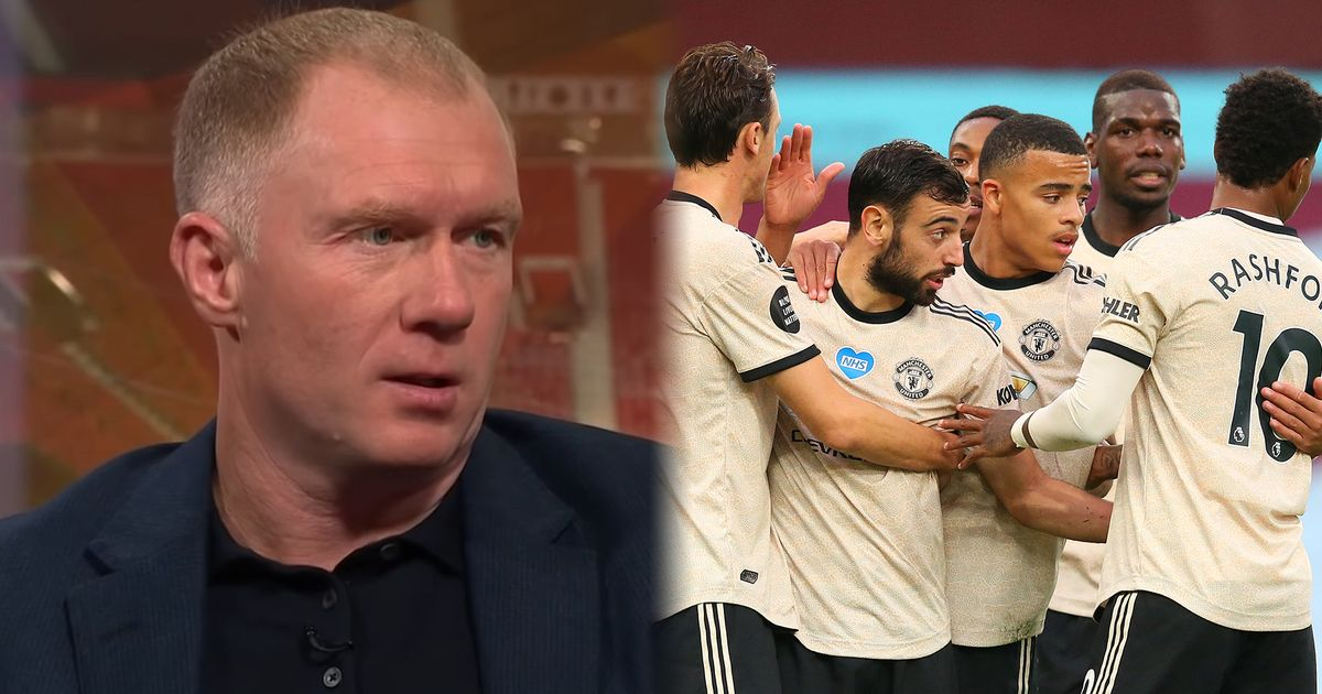 Paul Scholes reveals hunch on Manchester United form after Aston Villa win