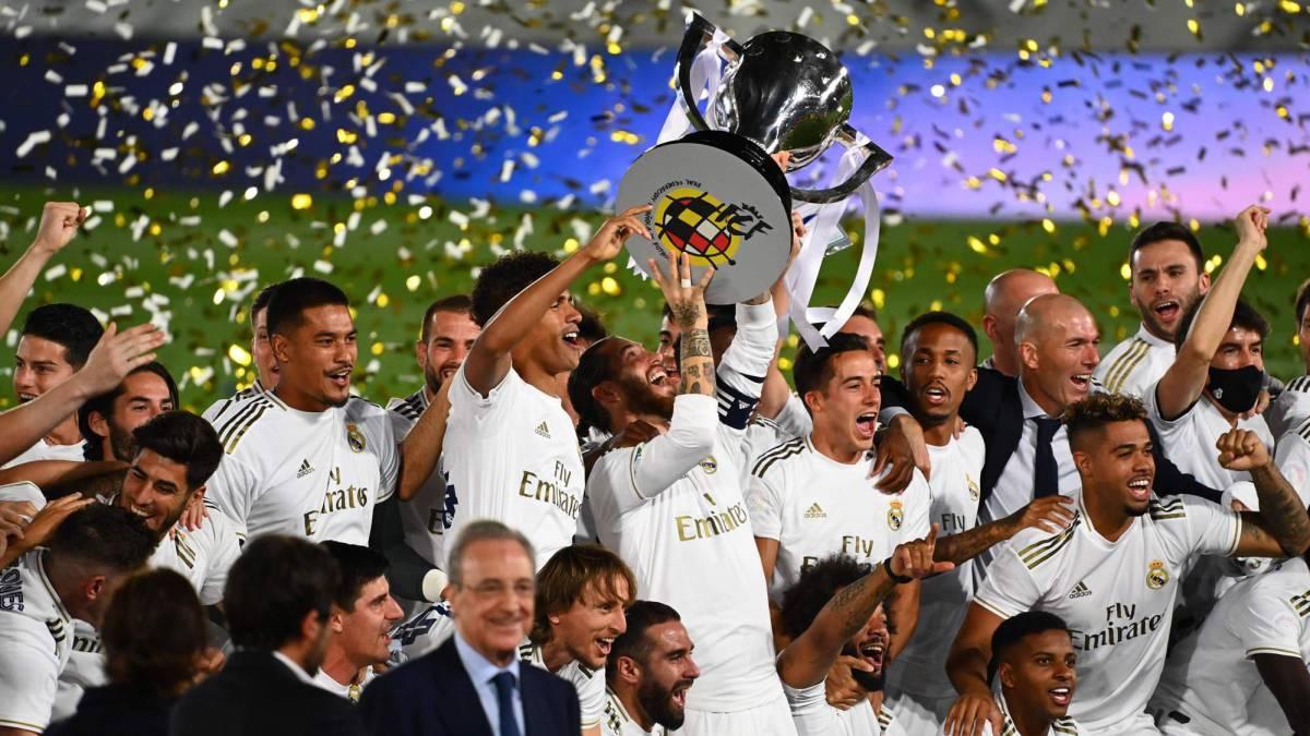 Real Madrid get LaLiga: title celebrations, reside
