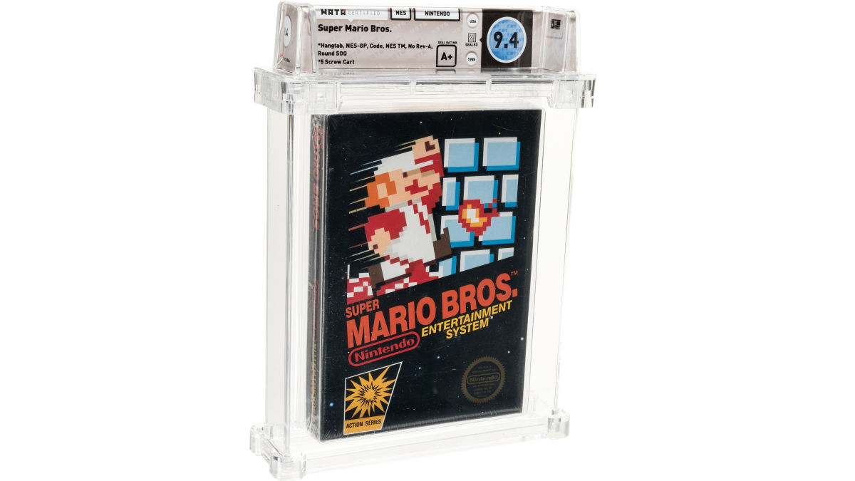 Rare Copy Of Super Mario Bros. Sells At Auction For Record-Breaking $114,000