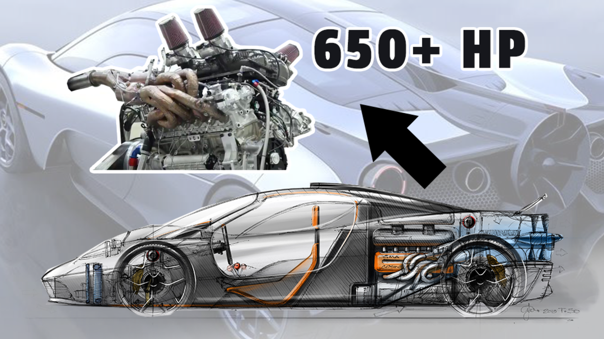 See Gordon Murray's All-New 650-HP Cosworth 3.9-Liter V12 Come To Life For The First Time