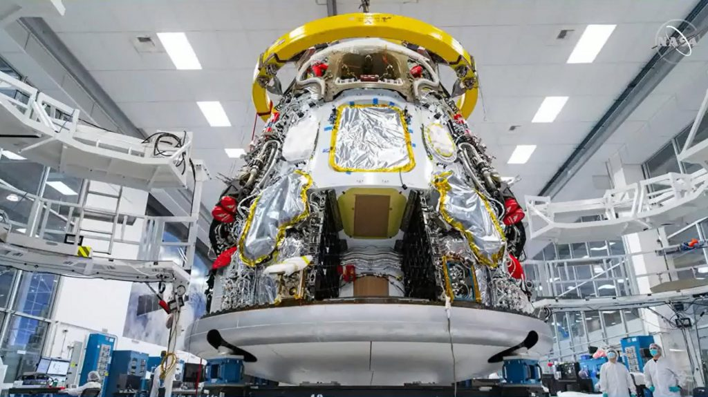 SpaceX spaceship nearly ready for upcoming NASA astronaut start