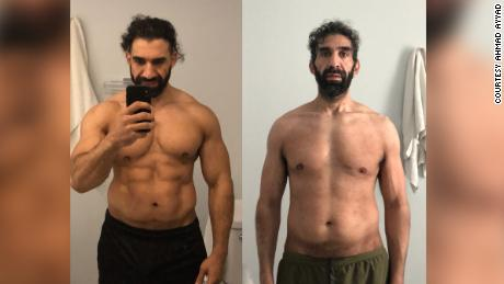 He was an athlete in the best shape of his life. Then Covid-19 almost killed him