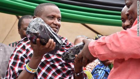Saniniu Laizer who sold Tanzania the biggest gem.
