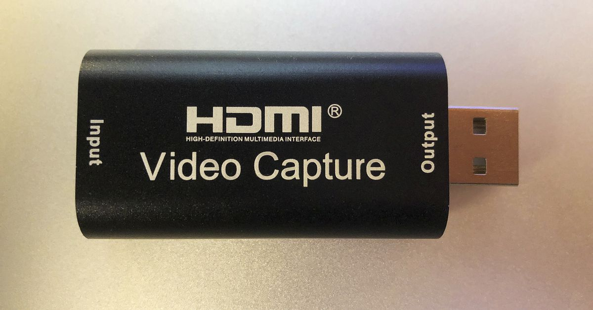 The cheapest Cam Link clone you can buy actually works pretty well