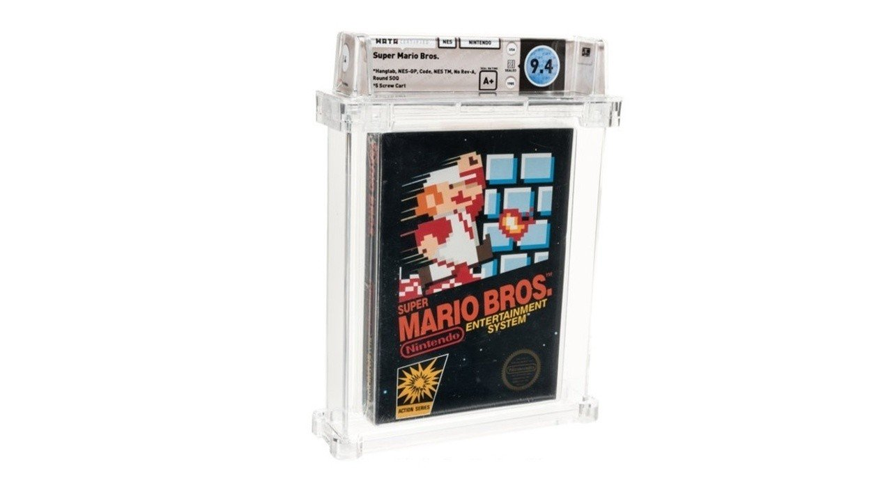 This Sealed Copy Of Super Mario Bros. Just Sold For $114,000