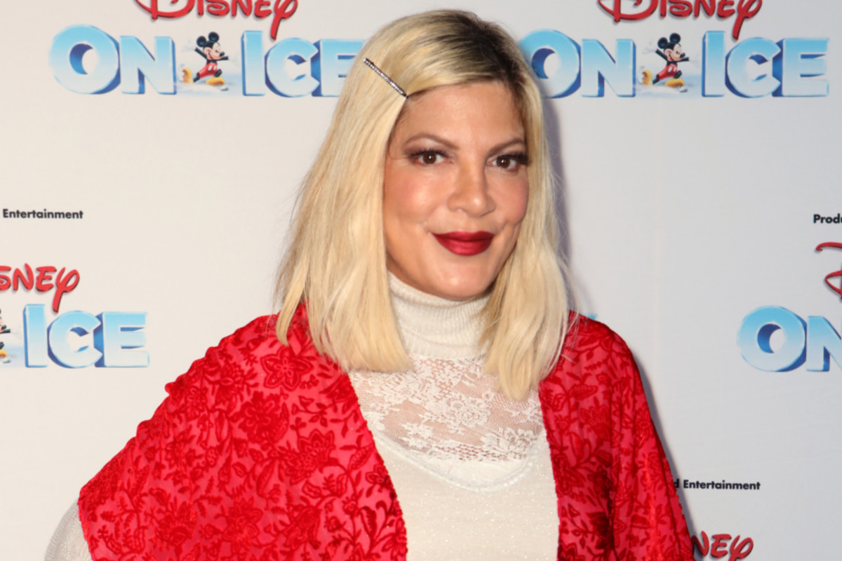 Tori Spelling had dollars seized from lender to go over AmEx money owed