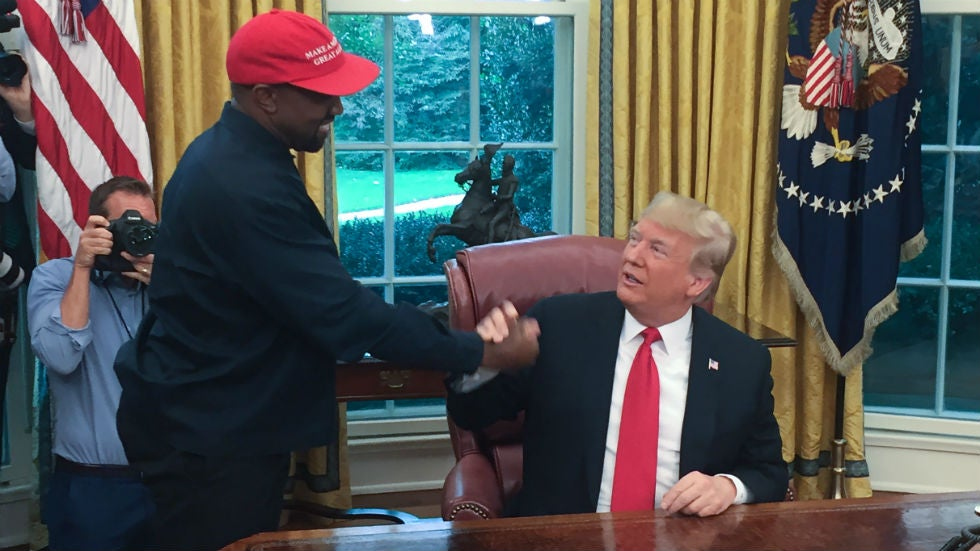 Trump on Kanye West's presidential run: 'He is always going to be for us'