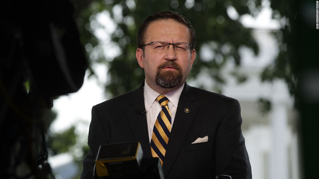 Trump to appoint Sebastian Gorka to the National Safety Training Board