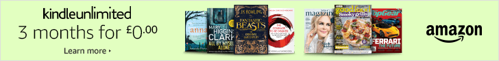 GET THREE MONTHS OF KINDLE UNLIMITED HERE!