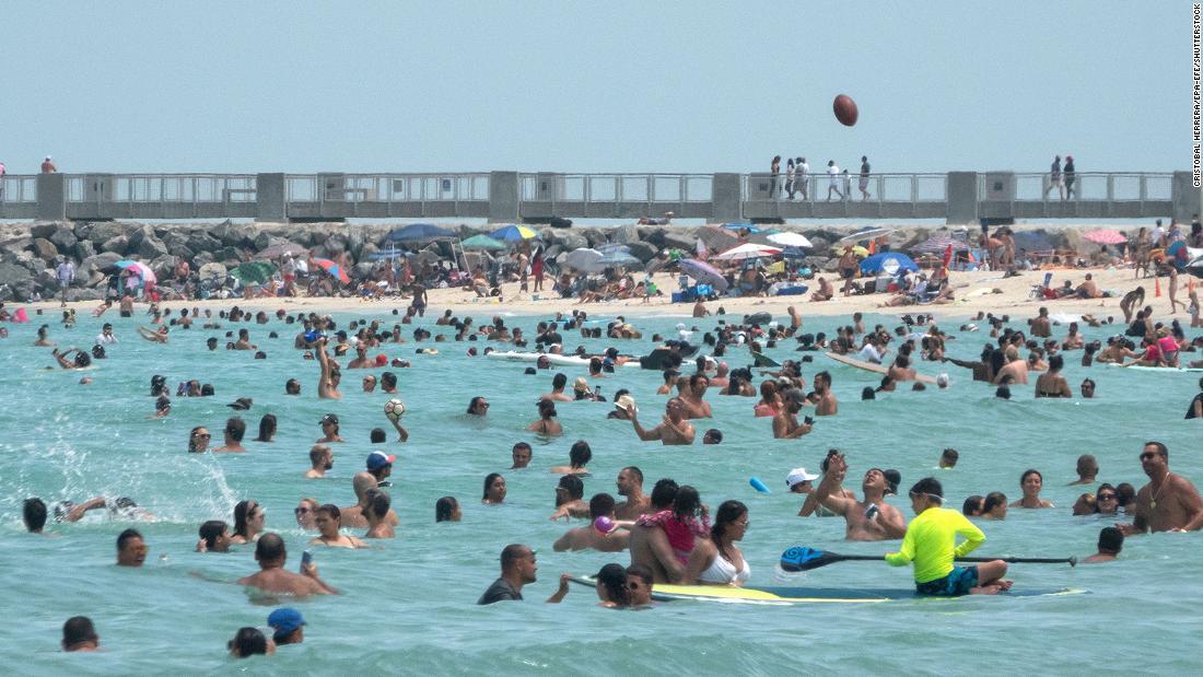 US coronavirus: Miami is now the coronavirus epicenter as scenarios surge, expert suggests