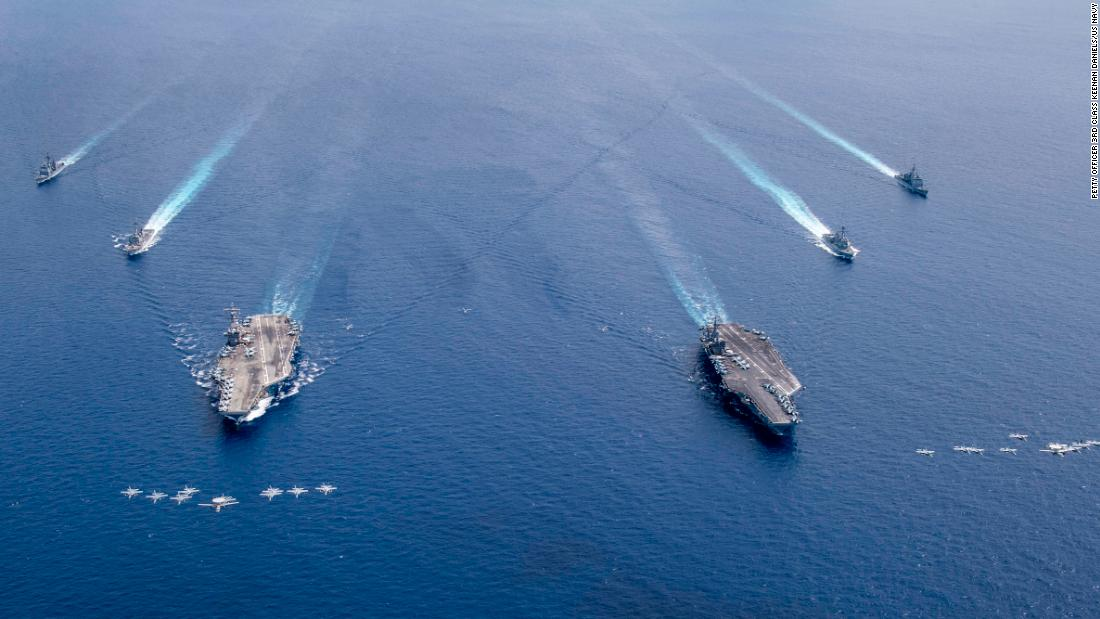 US declares 'most' of China's maritime promises in South China Sea unlawful