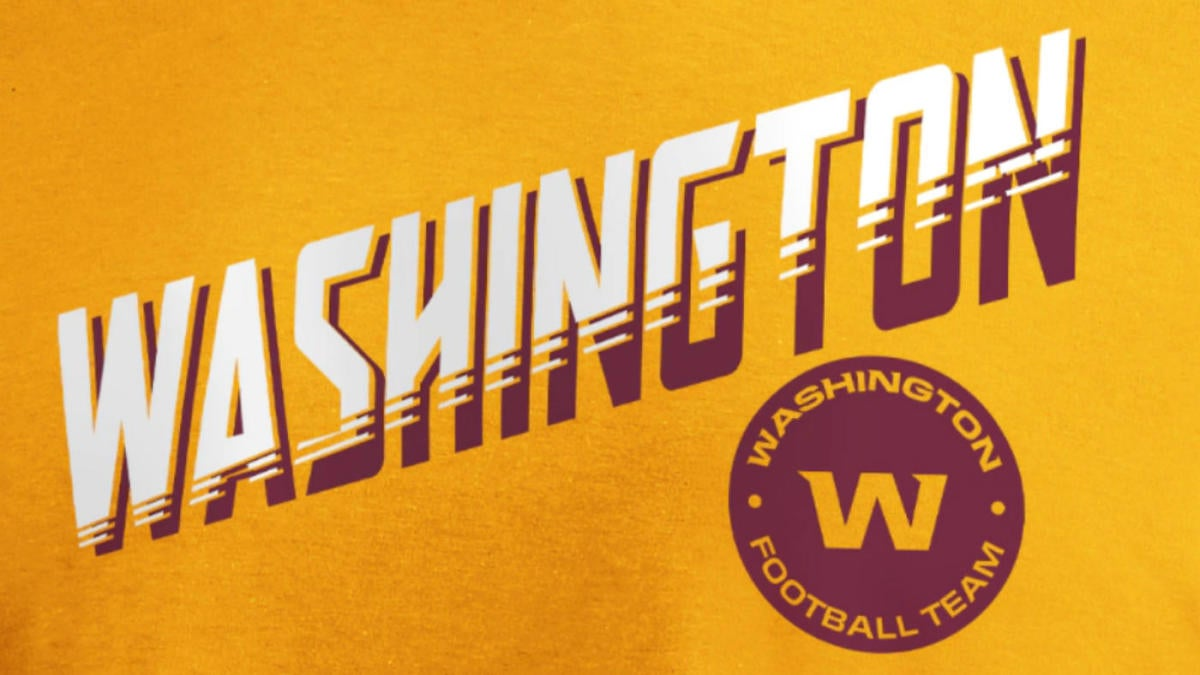 Washington releases first team merchandise, and it's possible there are clues for the franchise's future name