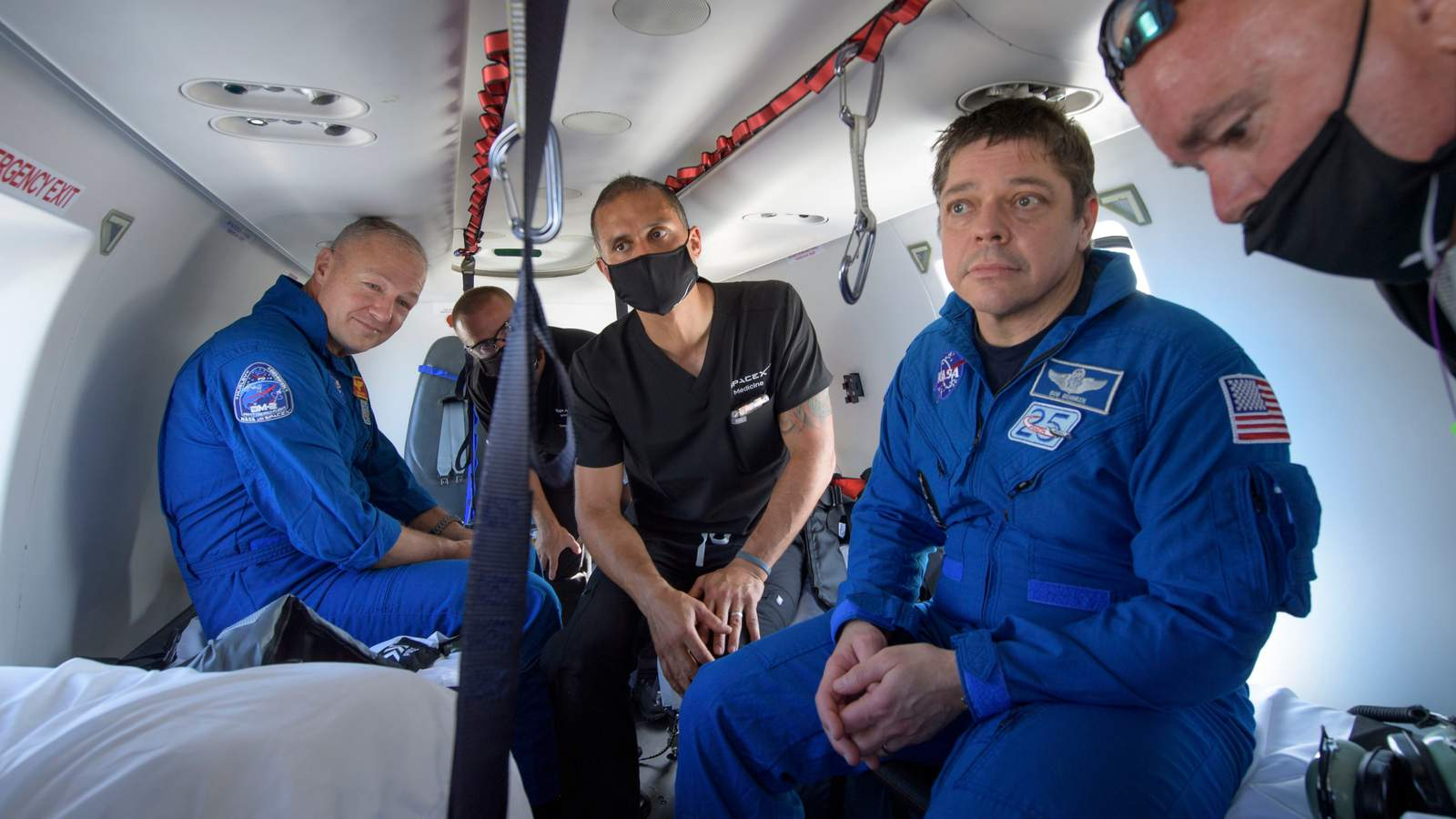 'It came alive:' NASA astronauts explain dealing with splashdown in SpaceX Dragon