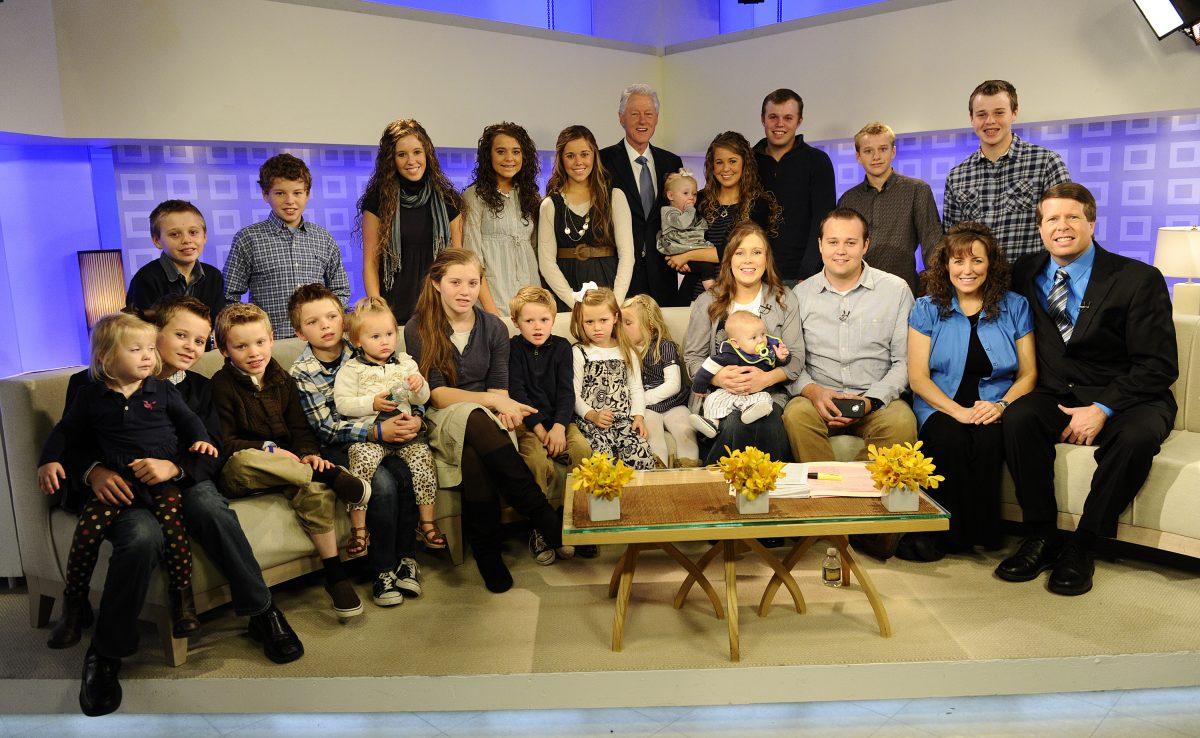 Members of the Duggar family