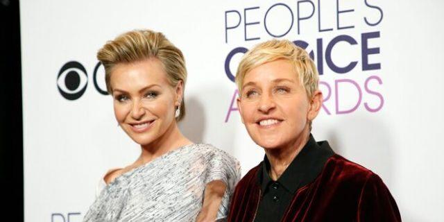 Ellen DeGeneres and Portia de Rossi.