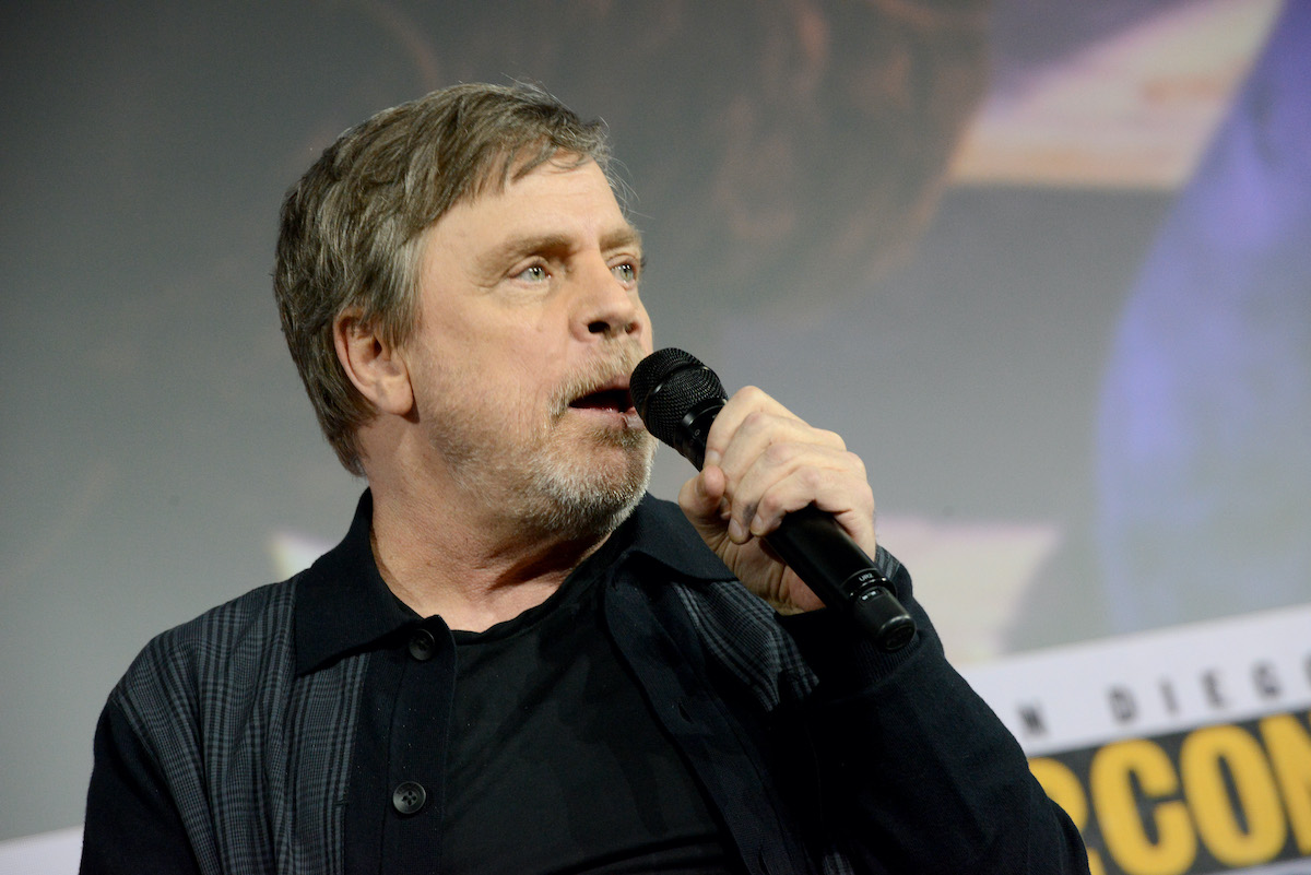 Mark Hamill at San Diego Comic-Con