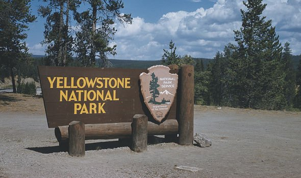 The park plays host to the Yellowstone supervolcano