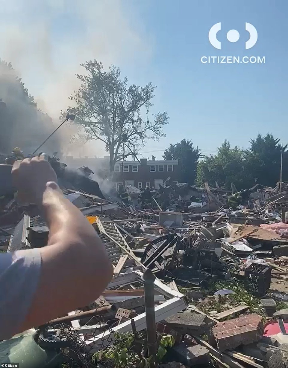 A collapse response and second alarm has been called, Baltimore firefighters confirmed