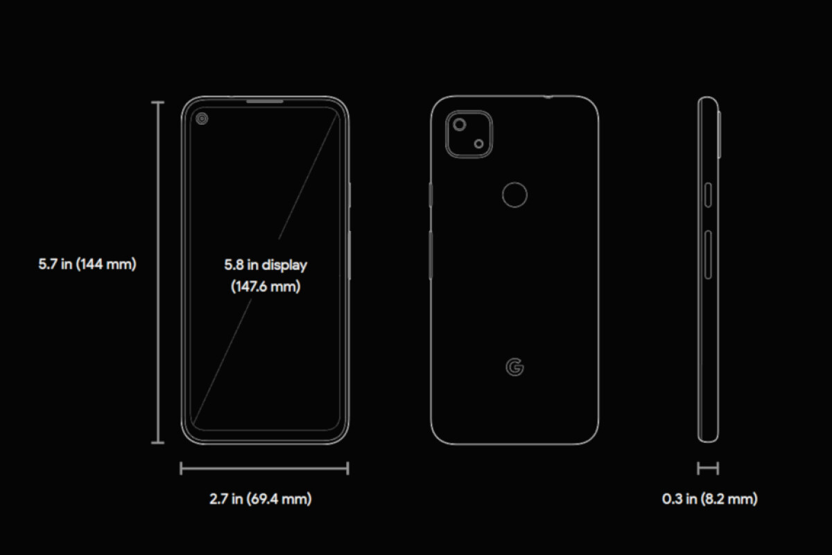 """Google Pixel 4a live wallpaper """"Eclipse"""" tracks the phone's battery lifestyle"""