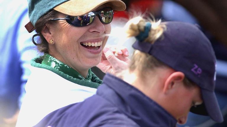 Princess Anne and her daughter, Zara, both competed in the Olympics for the British equestrian team