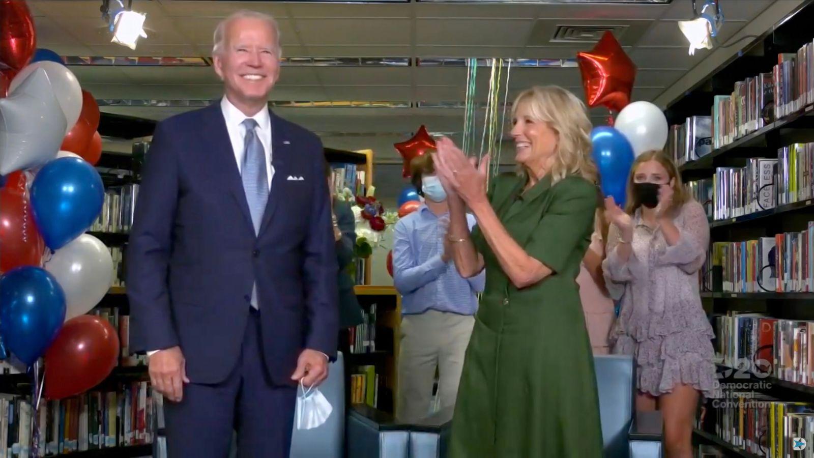 US election 2020: Joe Biden formally nominated as Bill Clinton lays into Trump | US News