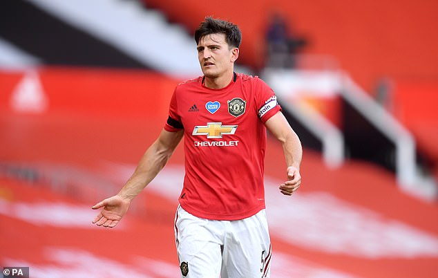 The centre-back was made captain just months after joining Man United from Leicester City